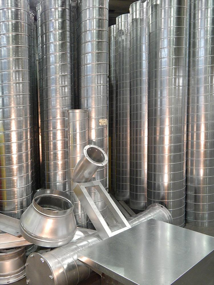 Accessoires et raccords pour conduits de ventilation