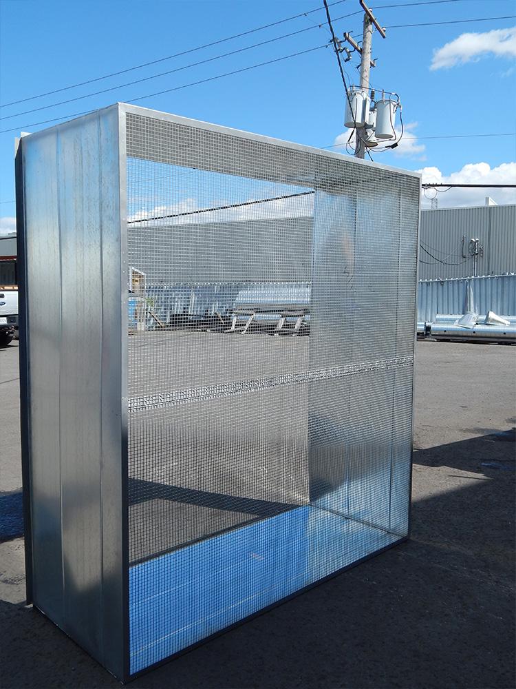 Conduits de ventilation carrés